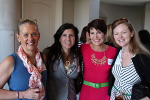 Circle of Friends Founder Mona Ferrugia with longtime Circle of Friends members Jennifer Connelly, Kyle Dyer and Liz O'Sullivan.