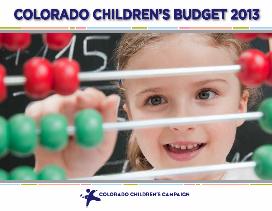 2013 Children's Budget