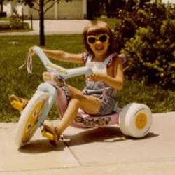 Sarah Barnes as a Child