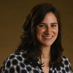 Stephanie Perez-Carrillo as an adult