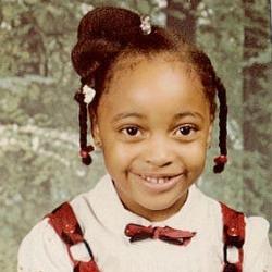 Angelique Smith as a Child