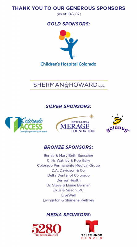 2017 Annual Luncheon Sponsors