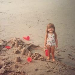 Erica Manoatl as baby