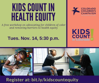 What barriers to health do children of color in Denver face? Join us to learn more.