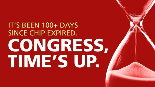 IT has been 100 days since CHIP expired.