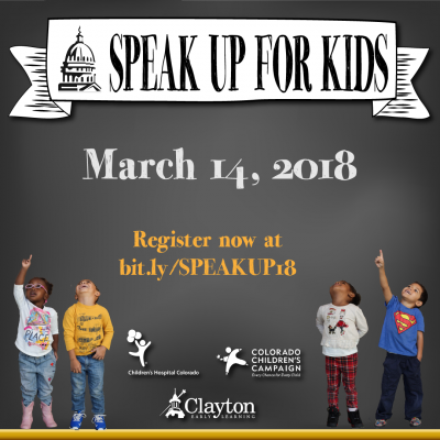 Speak up online signup is open