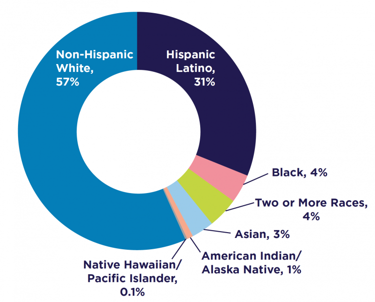Ethnic Makeup of Colorado's Child Population