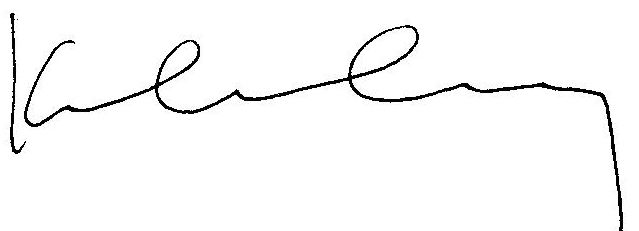 Kelly Causey Signature