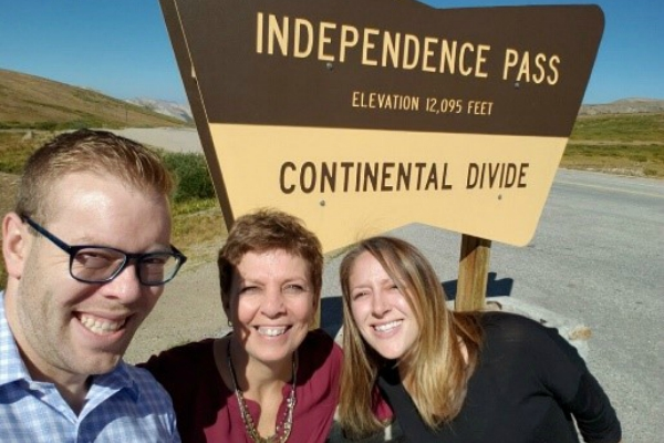 The Children's Campaign team has officially kicked off our KIDS COUNT travel season with first stops in Aspen and Leadville. Of course, this gave us the opportunity to drive over one of Colorado's many beautiful passes (twice!).