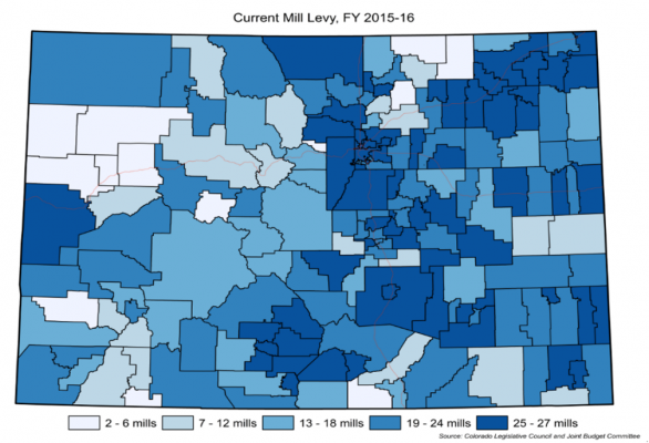 map shows how mill levies are literally all over the map