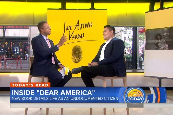 ICYMI: Our luncheon speaker, Jose Antonio Vargas, on the Today Show
