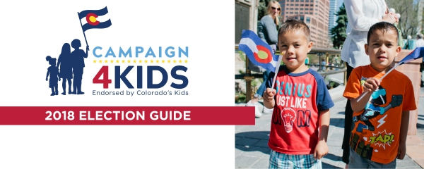 Get involved the campaign for kids 2018