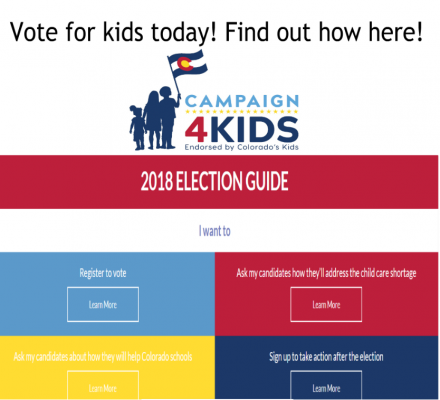 Vote for kids today