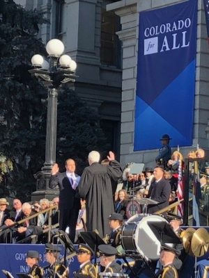 Gov. Jared Polis Swearing in as the new governor of Colorado