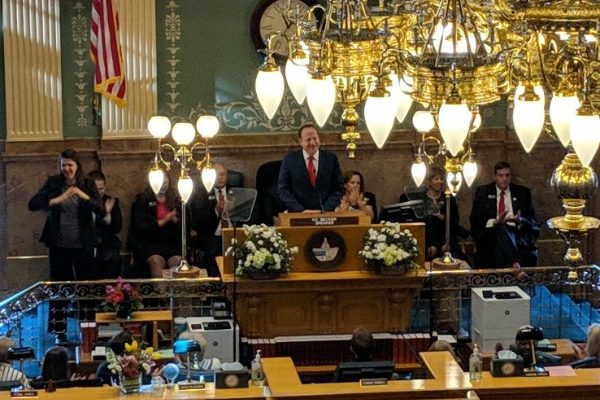Jared Polis gives his first state of state