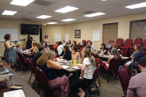 More than 70 stakeholders came together in late July to share their thoughts on the causes of, and solutions to, Colorado's dramatic loss of infant and family child care since 2010