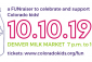 Want Denver's Milk Market all to yourself? Join us on 10.10.19