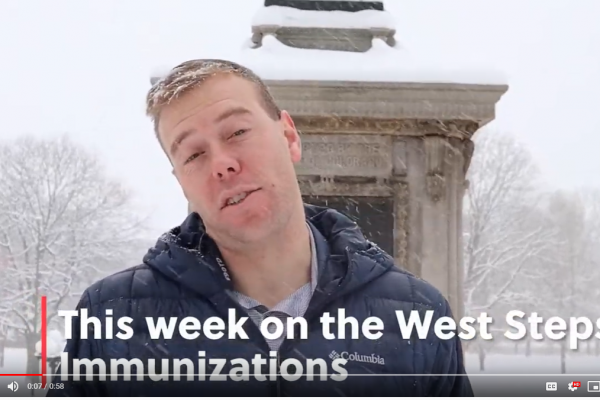 Riley Kits recaps the immunization week