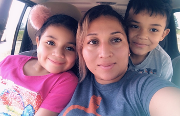 Ms. Antunez and her children