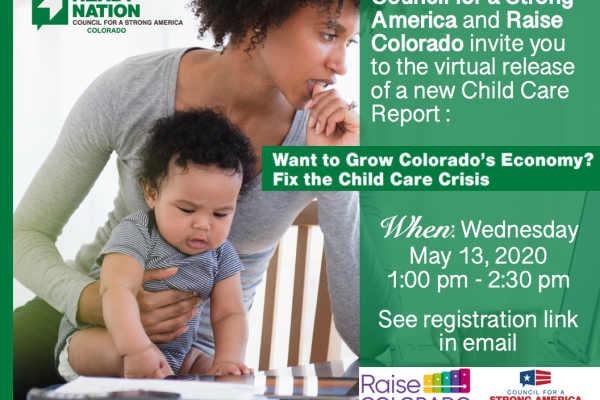 Join Us for a Conversation about Child Care and Colorado's Economy