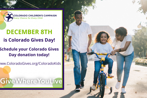 Will you stand with Colorado kids on December 8th?