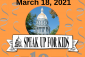 """Mark your calendar! 10th Annual Speak Up for Kids Day """"at the Capitol"""""""