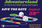 Save the date to join us in Adventureland!