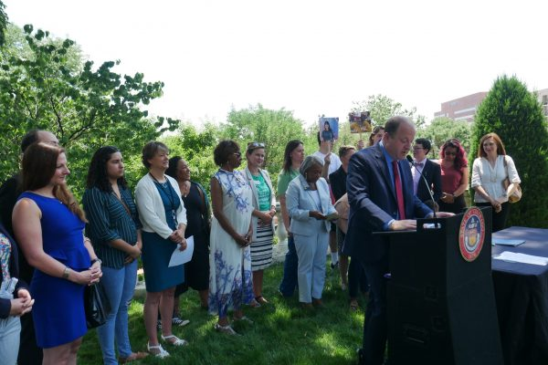 Governor signs several Children's Campaign priority bills to improve child and family health