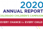 2020 Annual Report: Every Chance for Every Child