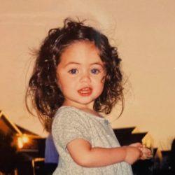 Lauren Hecht as a baby