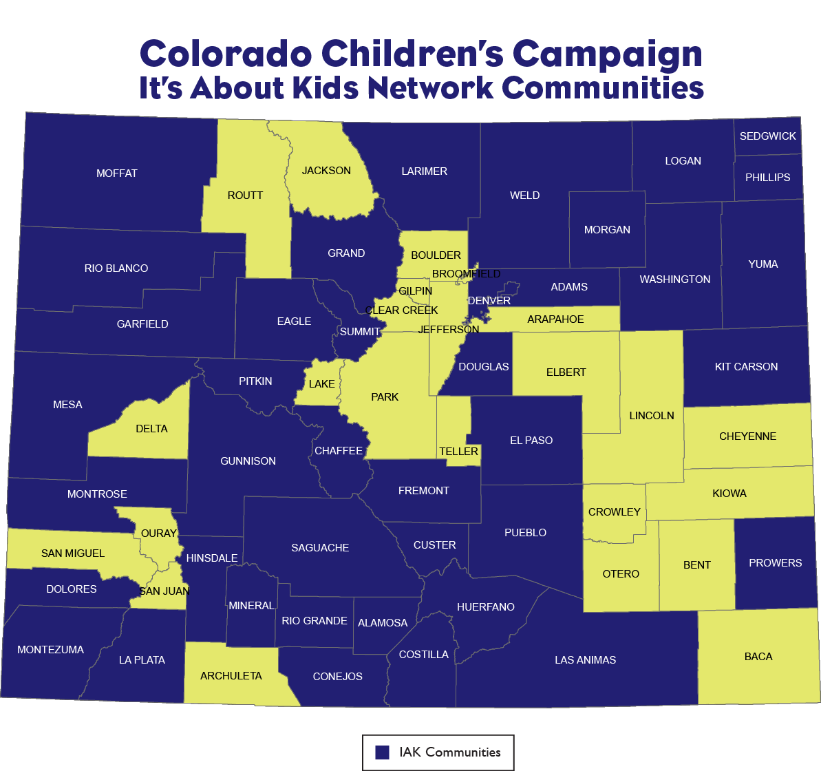 It S About Kids Network Continues To Grow Colorado Children S Campaign